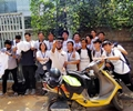 Students ride to raise awareness about girls' education